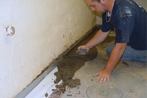 basement wateproofing what to expect from our basement waterproofing